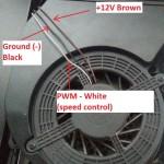 PS3 Fan wire color pinout